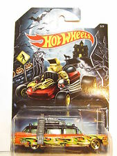 HOT WHEELS 2014 HAPPY HALLOWEEN GHOSTBUSTER ECTO-1  #5/5