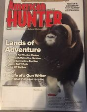 American Hunter Magazine August 2015  Lands of adventure pick up a crossbow.