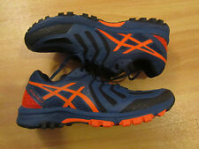 Men's Asics Fuji Attack 5 Trail Running Shoe Size UK 9.5 Colour Blue