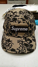 Supreme Floral Camo Cap Hat in Brown Vintage OG Box Logo Zebra Tee Feather Dunk