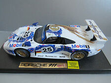 ANSON RACING 1/18 SCALE PORSCHE 911 GT1 No25 LE MANS WINNER RARE MINT