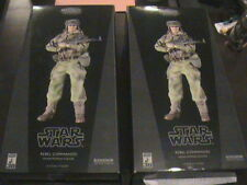 STAR WARS SIDESHOW LOT OF 2 SET REBEL COMMANDO INFANTRYMAN ENDOR HOT TOYS 1/6