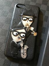 Genuine Dolce & Gabbana iPhone 7 Leather DESIGNERS PATCH 2017 BRAND NEW IN BOX