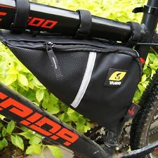 Waterproof Bicycle Triangle Bag Cycling Frame Pannier Bike Top Tube Saddle Case