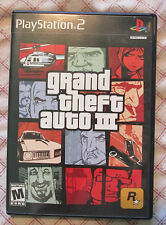 Play Station 2 PS2 Grand Theft Auto III (Box and game, no manual)