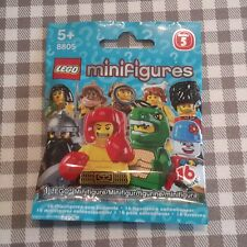 Lego minifigures series 5 (8805) new factory sealed packet