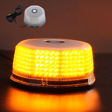 Amber Magnetic Beacon Light Emergency Warning Lights Strobe Yellow Roof Round