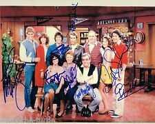 Happy Days Cast 8 x 10 Autograph Reprint Henry Winkler Marion Ross Tom Bosley +5