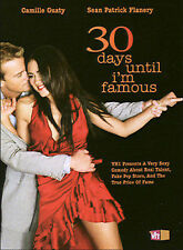 30 Days Until I'm Famous (DVD, 2005) VERY GOOD