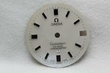 Madreperla Omega Constelación Co-Axial Cronómetro Dial nos 25.4mm Plata