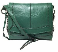 NWT B. Makowsky Oxford Cross Body, Emerald Color, BM34605 MSRP: $188.00