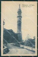 Brescia Palazzolo sull'Oglio cartolina QK6830