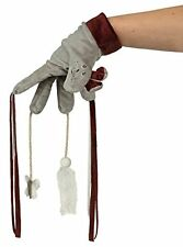 Cat Glove Teaser with Tassels Butterfly and Ball On Rope | Plush