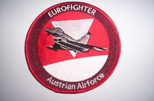 Aufnäher/Patch  Austrian Air Force Eurofighter ca 10cm