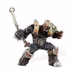 "World of Warcraft Premium Series 3 Garrosh Hellscream 7"" Figure No Box"