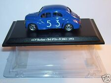 MINIATURE CAR ELIGOR PRESSE RENAULT 4CV BERLINE BOL D'OR R1063 1952 IN BOX 1/43