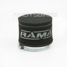 Universal Fit 70mm Motorcycle RamAir Race Pod Racing Performance Air Filter