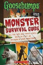 Goosebumps the Movie: Monster Survival Guide by Susan Lurie (2015, Hardcover)