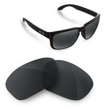 Polarized Replacement Lenses for Oakley holbrook black mirror color