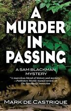 A Murder in Passing 4 by Mark de Castrique (2013, Paperback, Large Type)