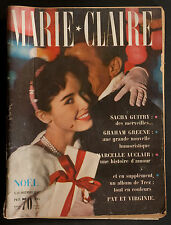 'MARIE-CLAIRE' FRENCH VINTAGE MAGAZINE CHRISTMAS ISSUE DECEMBER 1957