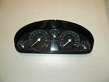 PEUGEOT 607 2009 2.0HDI 100KW MANUAL SPEEDOMETER INSTRUMENT CLUSTER 9662297780