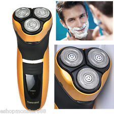 HOT+ Men's 3D Rotary Washable Cordless Electric Shaver Razor Deluxe Rechargeable