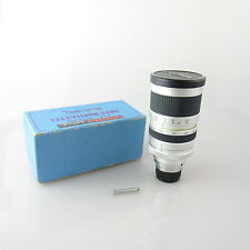 C-Mount Tokina Televisions Lens 12.5-75mm F=1.8 cmount