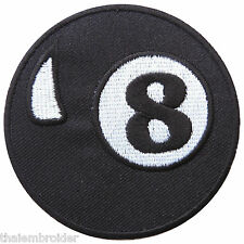 8 Eight Ball Bowling Basketball Snooker Football Tennis Iron-On Patches #B010
