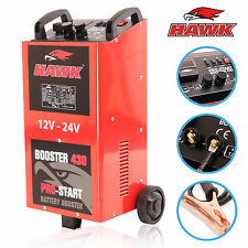 2000W 12V 24V 400 A AMP GARAGE WORKSHOP CAR BATTERY CHARGER JUMP START STARTER