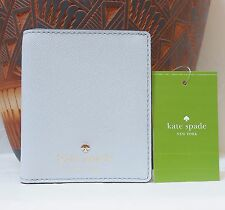 NWT Kate Spade Cedar Street Small Stacy Wallet  Mystic Blue Saffiano Leather NEW