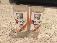 Ketel One Vodka Glass Tumbler Set Of 2, 750ml And One Liter Size