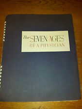 The Seven Ages of A Physician. James Chapin artist 7 color prints.CIBA publisher