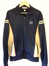 Sergio Tacchini tracksuit top SP Made In Italy Size M Navy