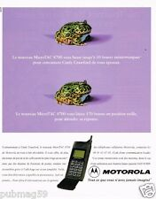 Publicité advertising 1997 Le Telephone portable Motorola