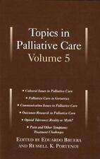 Topics Palliative Care Vol 5-ExLibrary