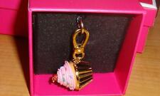 NEW JUICY COUTURE CUPCAKE CHARM FOR BRACELET/NECKLACE