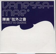 Vanessa Mae Subject To Change 8-Track Taiwan only Promo CD