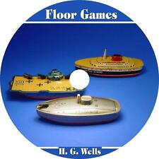 Floor Games, H. G. Wells Childrens Play Time Audiobook on 1 MP3 CD