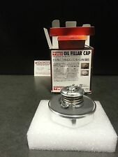 TRD JAPAN BILLET ALUMINUM OIL CAP 4age 20v twist type spring loaded TOYOTA SUPRA