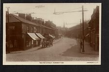 Ramsbottom - Bolton Street - real photographic postcard