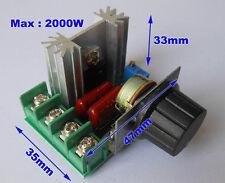 2000W 2KW AC 110V 120V 220V 240V Voltage Speed Temperature Lighting Regulator