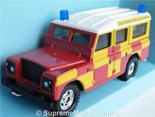 LAND ROVER LEICESTERSHIRE FIRE & RESCUE 4X4 MODEL CAR CORGI 1/36 ISSUE T3412Z(=)