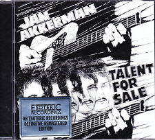 JAN AKKERMAN talent for sale Remastered CD NEU OVP/Sealed