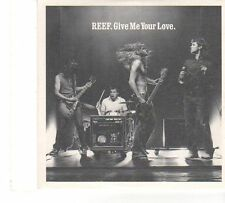 (FT691) Reef, Give Me Your Love - 2002 DJ CD