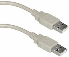 USB 2.0 A Male to A Male Data Transfer/ Extension Cable for PC/Laptop/ Desktop