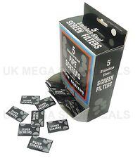 50 Stainless Steel 20mm Tobacco Pipe Screens Gauzes 10 x 5 packs