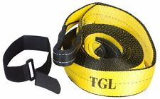 "New TGL 3""X30FT Recovery Strap-30,000 LB Capacity Tow Rope Towing Pulling Truck"