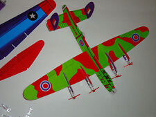 Two B-17 + Lancaster Glider Plane kit good for Brushed Brushless RC Conversion 1