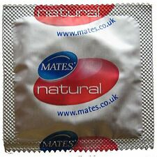 24 x Mates Natural Condoms FREE UK P&P  ***Cheapest***  Direct From UK Supplier